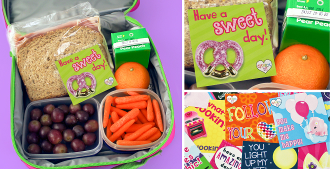 Lunch Box Notes to Make Kids Smile