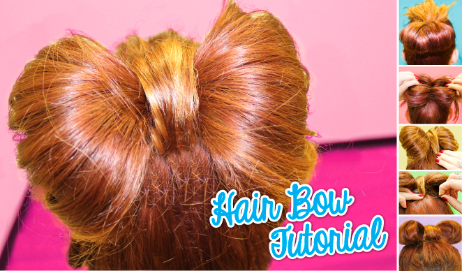 Hair Bow Tutorial Stages