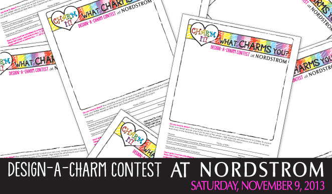 Nordstrom Design-A-Charm Event!