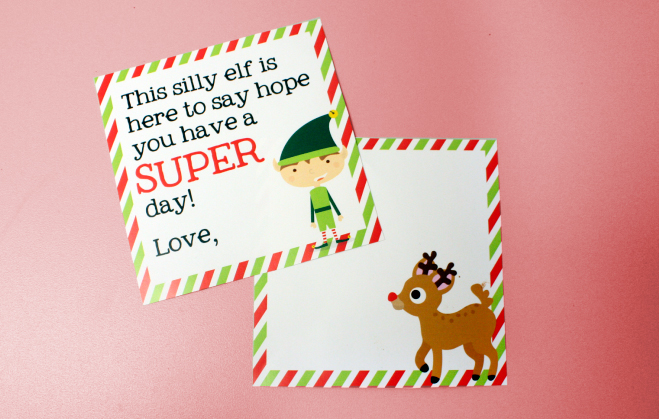 Christmas lunch box love notes printables and stationery for kids