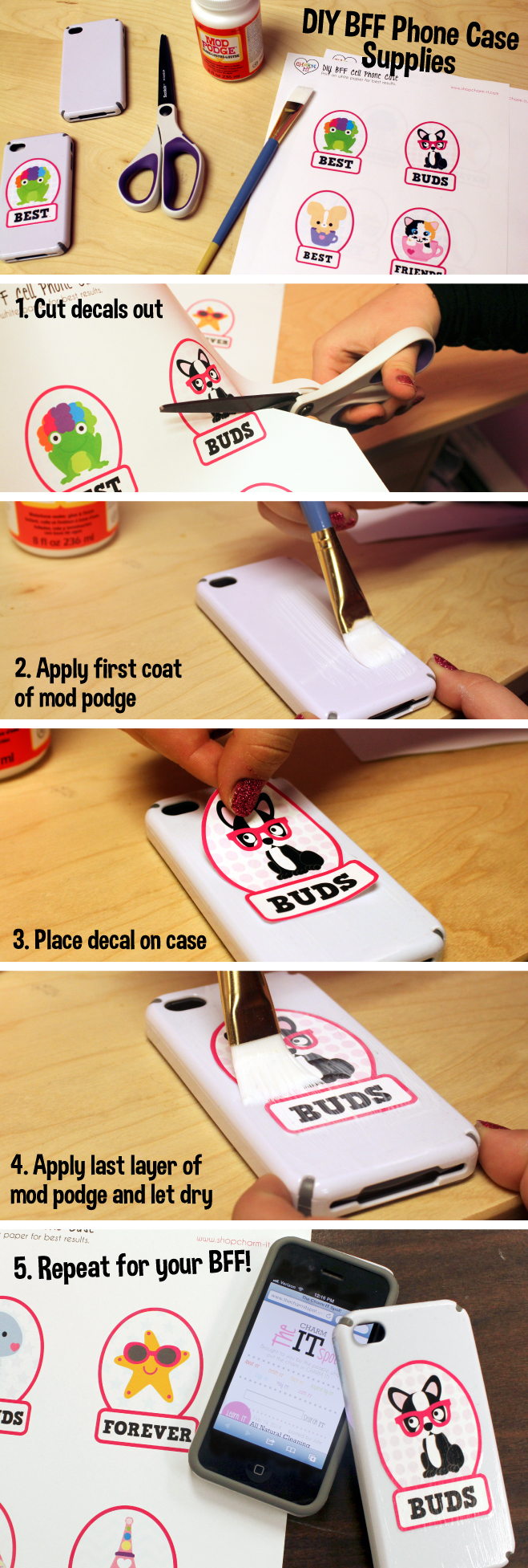 BFF DIY Phone Cases