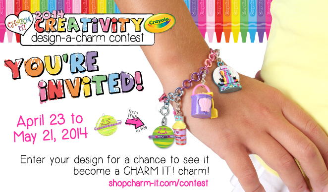 2014 CHARM IT! Crayola Design-A-Charm Contest