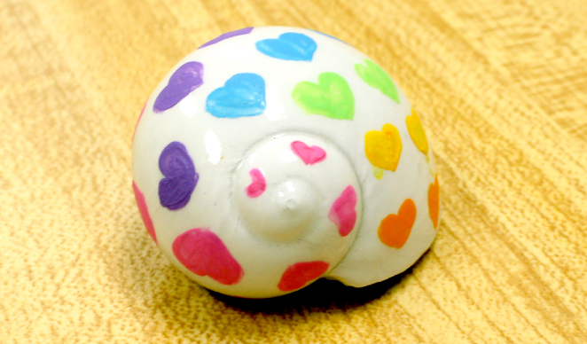 Paint a Hermit Crab Shell Activity for Kids