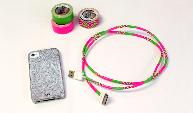 DIY Duct tape phone charger
