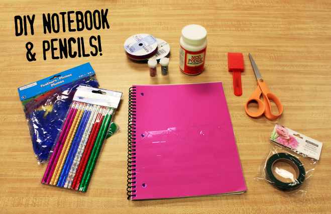DIY School Supplies Craft