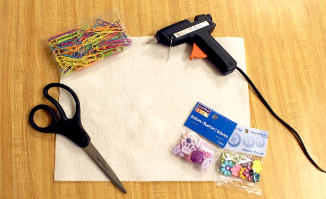 DIY bookmark craft supplies