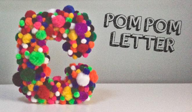 Pom Pom Letter