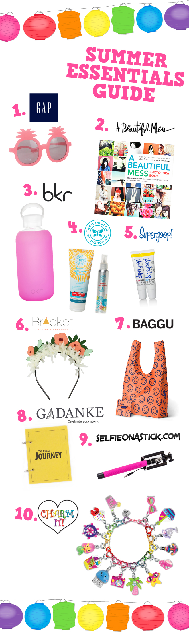 Summer product  must-haves